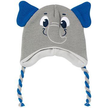 PK6958-EL-B-Kit-Touca-e-Meia-Soquete-para-bebe-em-la-Elefantinho---Puket