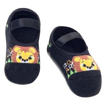 PK7070-LE-A-moda-bebe-menino-meia-sapatilha-pansocks-mescla-leaozinho-puket-no-bebefacil-loja-de-roupas-enxoval-e-acessorios