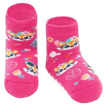 PK7060-RAP-A-moda-bebe-menina-meia-soquete-pansocks-raposas-puket-no-bebefacil-loja-de-roupas-enxoval-e-acessorios