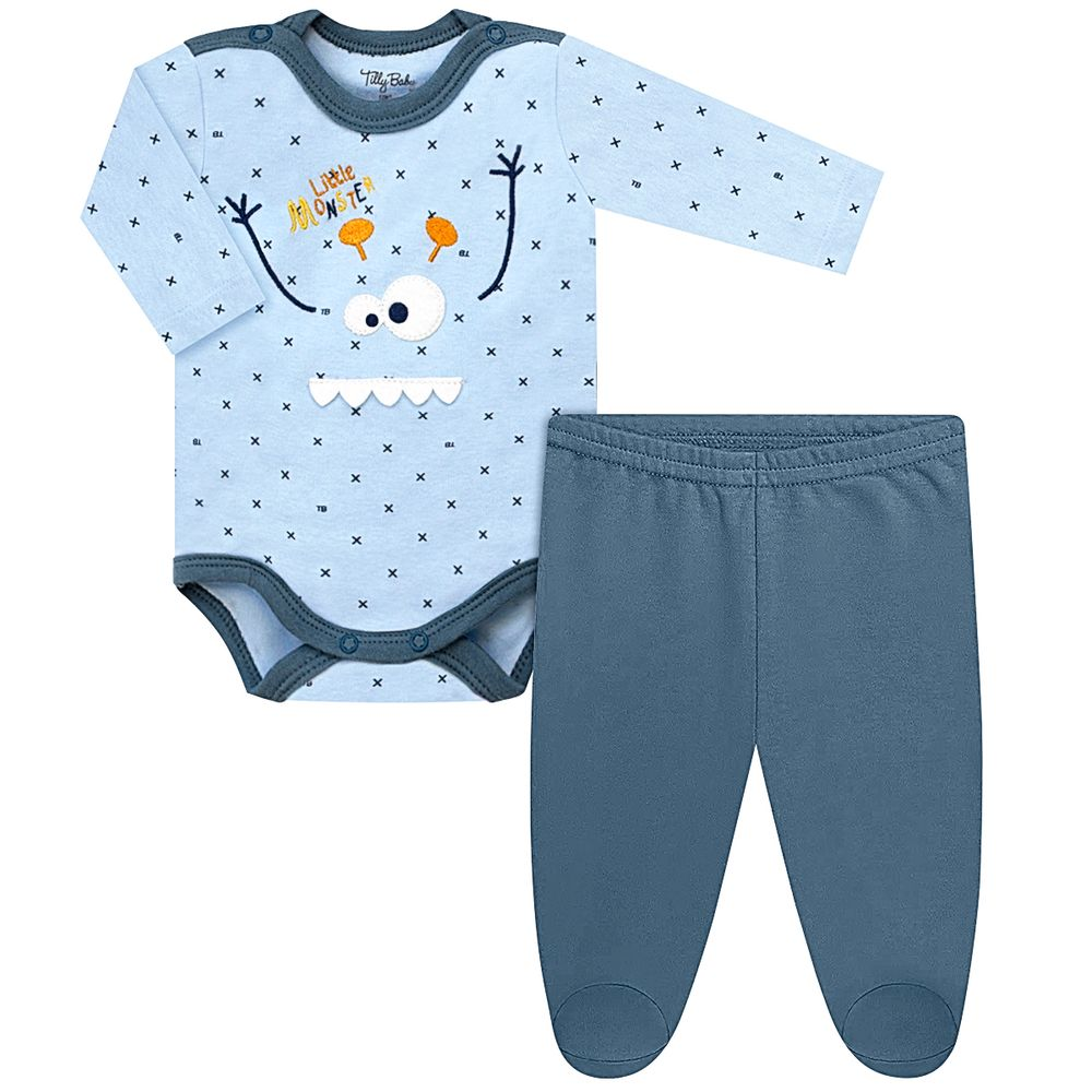 TB202542-A-moda-bebe-menino-conjunto-body-longo-com-calca-em-suedine-monster-tilly-baby-no-bebefacil-loja-de-roupas-enxoval-e-acessorios