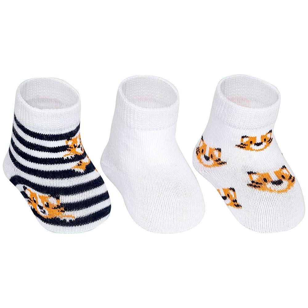 PK69845-TT-A-moda-bebe-menino-acessorios-tripack-kit-3-meias-tigrinho-puket-no-bebefacil-loja-de-roupas-enxoval-e-acessorios-para-bebes