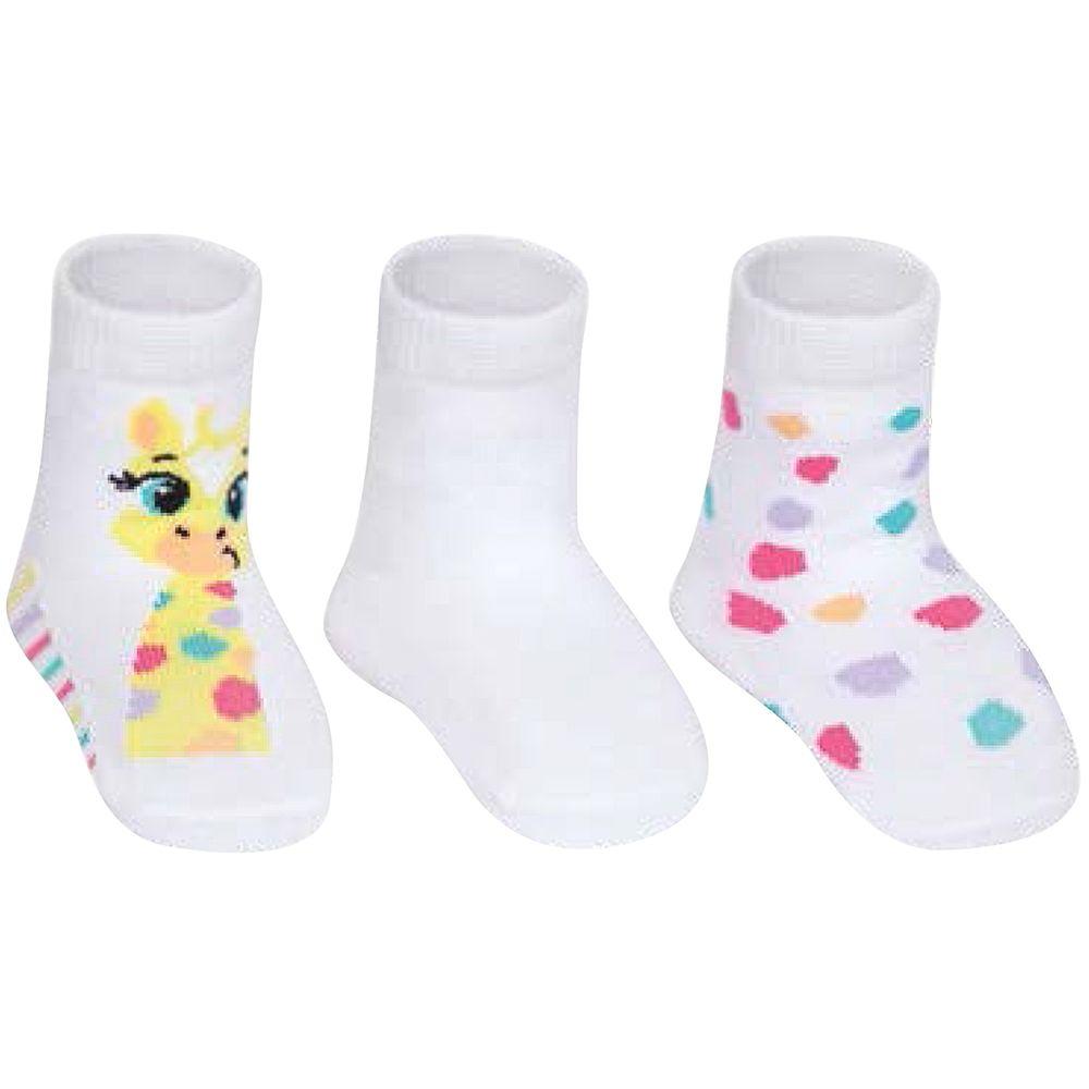 PK70845-GF-A-moda-bebe-menina-acessorios-tripack-kit-3-meias-girafinha-puket-no-bebefacil-loja-de-roupas-enxoval-e-acessorios-para-bebes