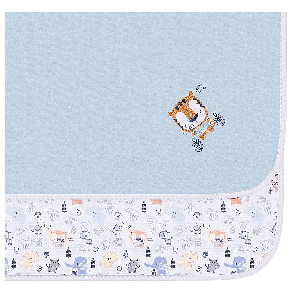 20706-T01-A-enxoval-e-maternidade-bebe-menino-manta-em-suedine-bichinhos-anjos-baby-no-bebefacil