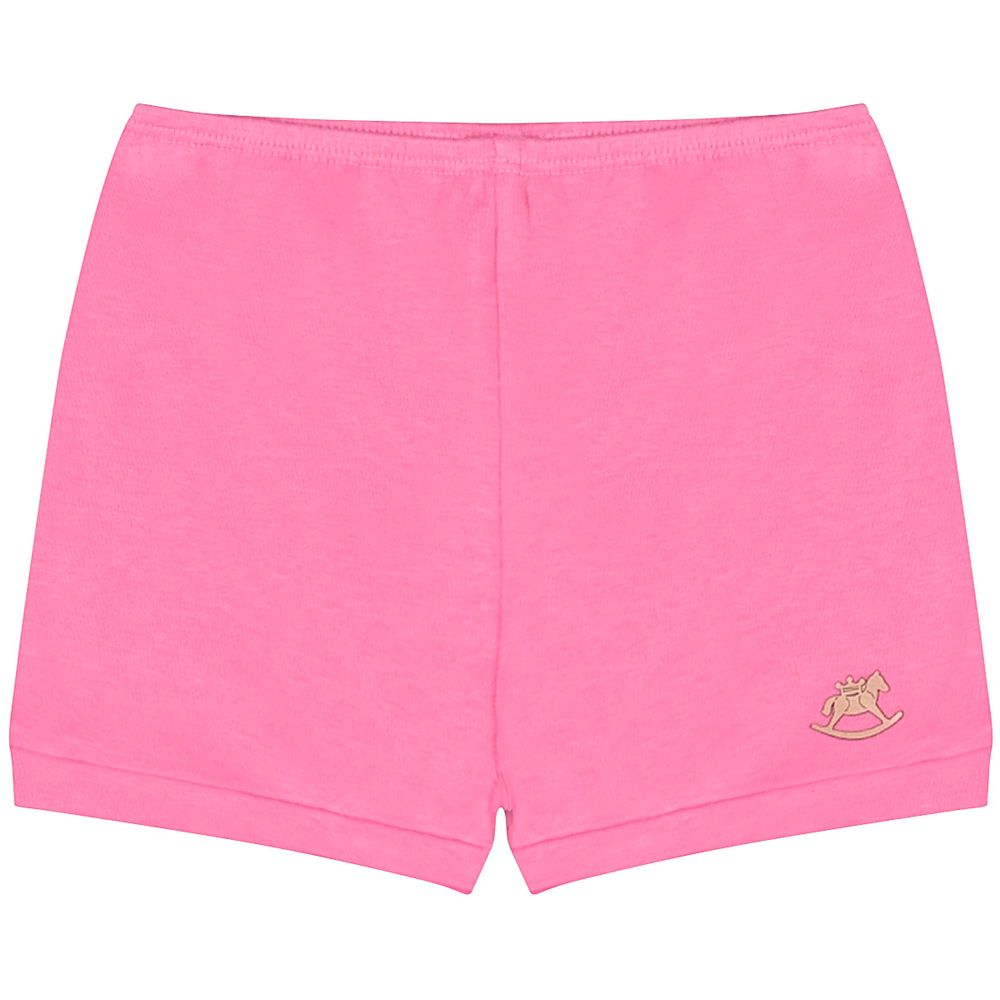 42967-PK-A-moda-bebe-menina-short-em-suedine-pink-no-bebefacil-loja-de-roupas-enxoval-e-acessorios-para-bebes