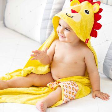 30043303010005-D-Toalha-c-capuz-atoalhado-para-bebe-Leaozinho---Fisher-Price