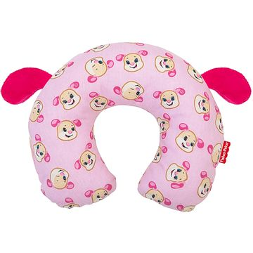 30040206010001-B-Protetor-de-pescoco-para-bebe-em-percal-Cachorrinha---Fisher-Price