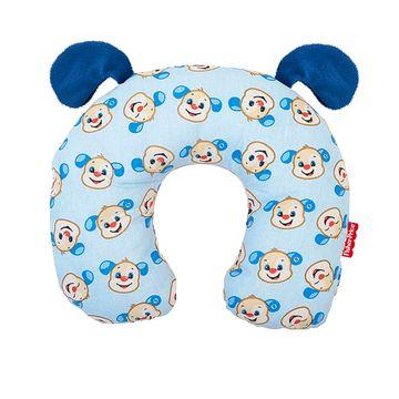 30040206010002-B-Protetor-de-pescoco-para-bebe-em-percal-Cachorrinho---Fisher-Price
