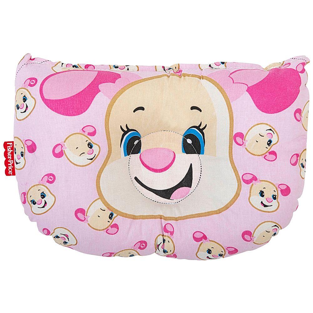 30043505010001-A-Travesseiro-Anatomico-para-bebe-em-percal-Cachorrinha---Fisher-Price