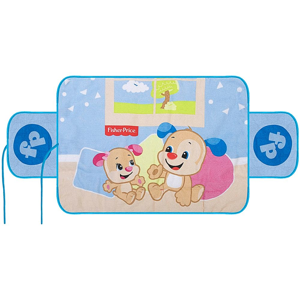 30043602010002-A-Trocador-Portatil-para-bebe-Cachorrinho---Fisher-Price