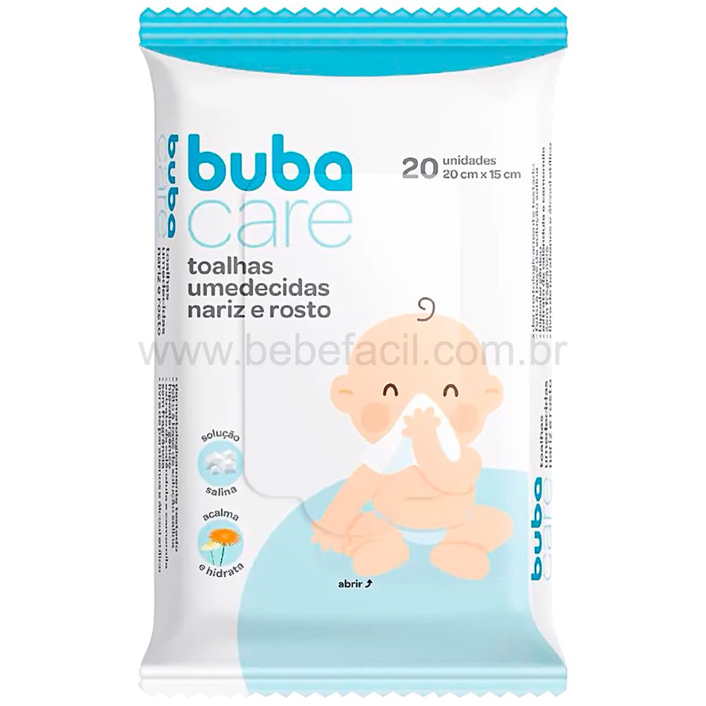 BUBA11990-A-Toalhas-Umedecidas-Nariz-e-Rosto-20-Unidades-0m---Buba