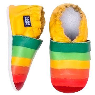 BABO95-A-Tenis-Caleidoscopio-para-bebe-em-couro-Eco-Colorido---Babo-Uabu
