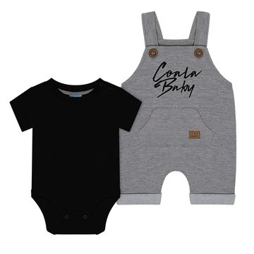 TMX4090-PM_B-moda-bebe-menino-jardineira-com-body-curto-em-moletinho-coala-baby-mescla-preto-TMX-no-bebefacil-loja-de-roupas-enxoval-e-acessorios-para-bebes