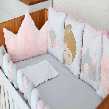 2117301-07-B-Kit-Berco-Princesa-Rosa-Baby-Magia-10-pecas---Brubrelel-Baby