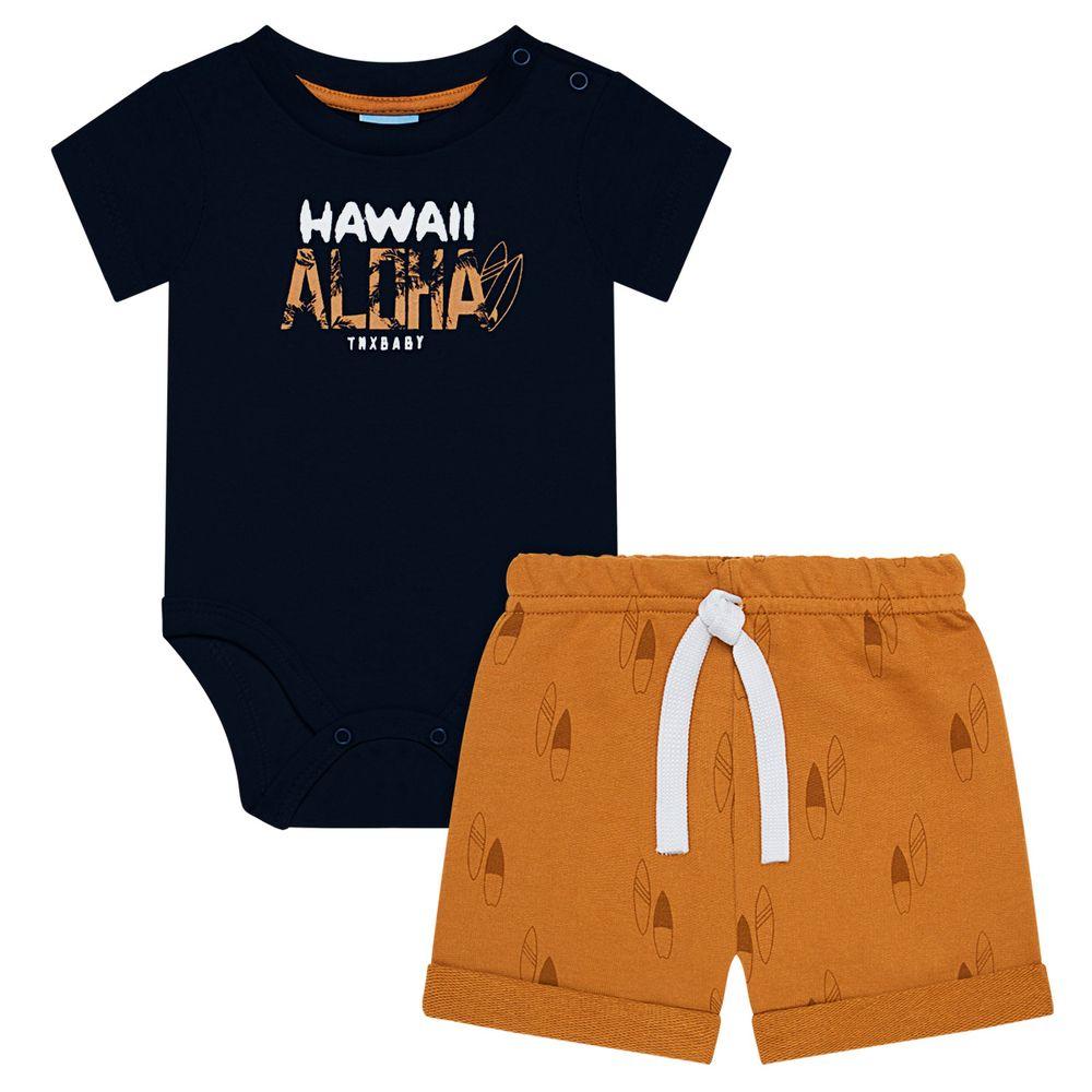TMX4088_A-moda-bebe-menino-body-curto-com-short-moletinho-aloha-TMX-no-bebefacil-loja-de-roupas-para-bebes