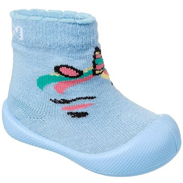 KN829136000-A-Meia-c-Sola-para-bebe-Comfort-Unicornio-Azul---Klin