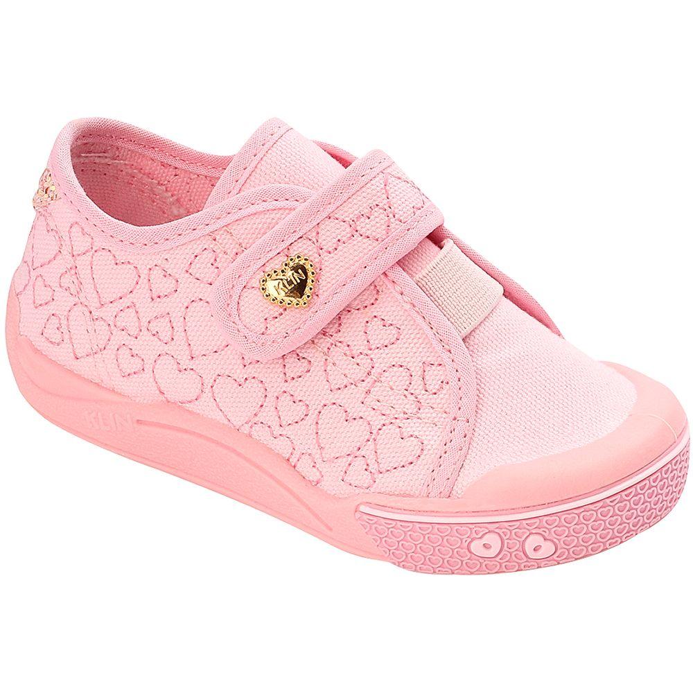 KN942171000-A-Tenis-c-velcro-para-bebe-Toy-Coracoes-Rosa---Klin