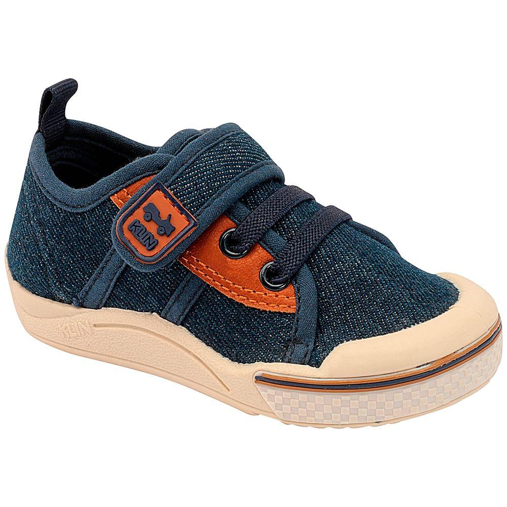 KN942177000-A-Tenis-c-velcro-para-bebe-Toy-Jeans-Indigo---Klin
