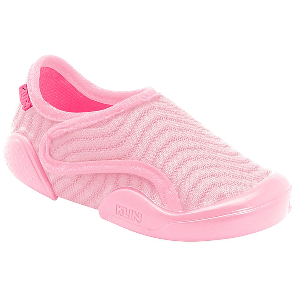 KN179042000-A-Tenis-c-velcro-para-bebe-New-Comfort-Rosa-Pink---Klin
