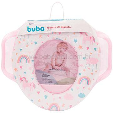 BUBA12315-B-Redutor-de-Assento-Infantil-Arco-Iris-12m---Buba