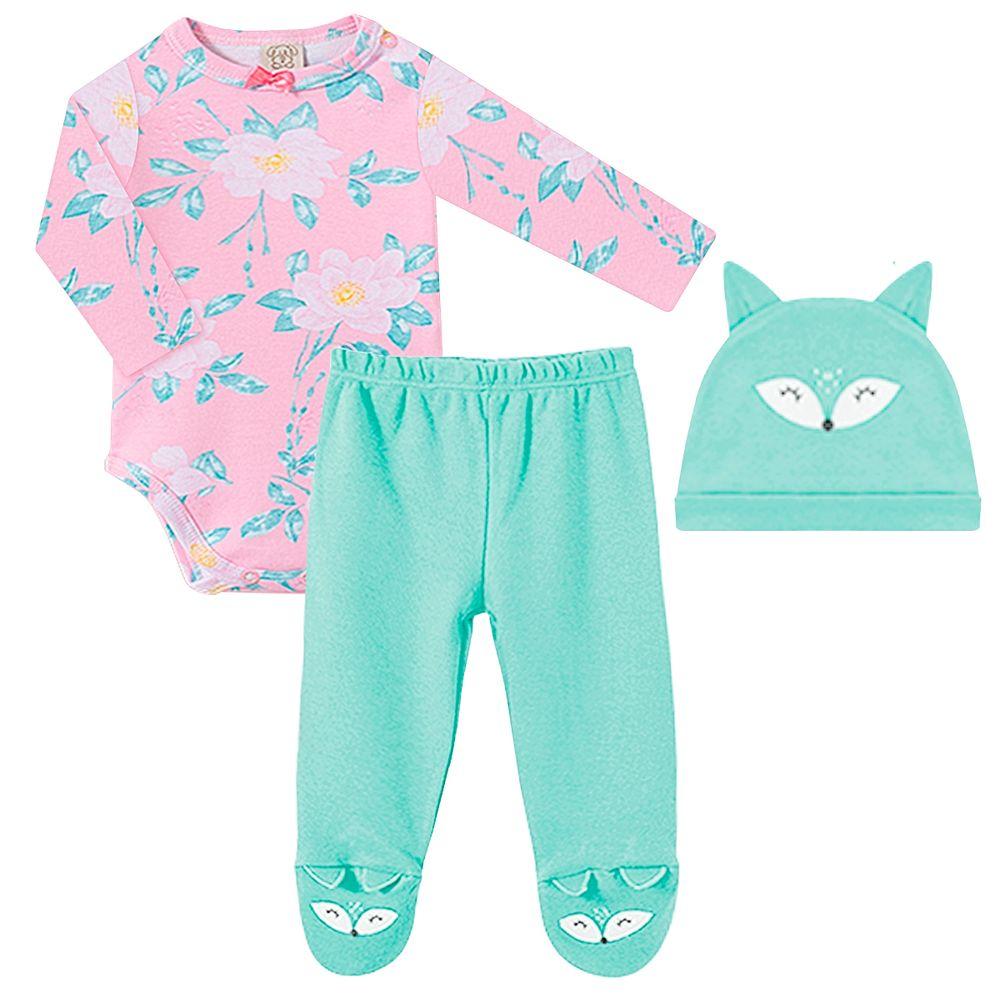 PL66539-A1-moda-bebe-menina-conjunto-body-longo-calca-touca-raposinha-pingo-lele-no-bebefacil-loja-de-roupas-enxoval-e-acessorios-para-bebes