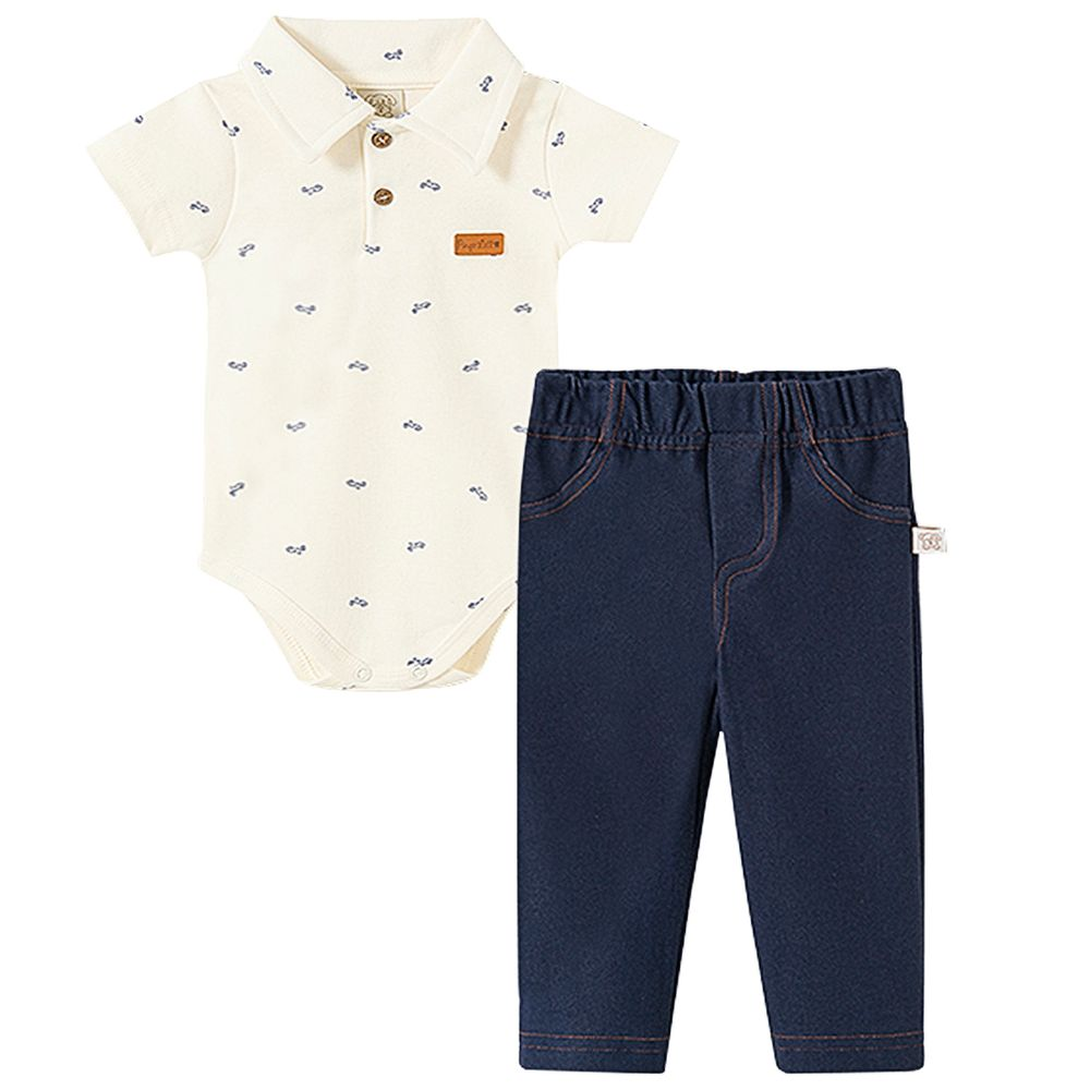PL66564-A-moda-bebe-menino-conjunto-body-polo-calca-jeans-suedine-motinha-pingo-lele-no-bebefacil-loja-de-roupas-enxoval-e-acessorios-para-bebes