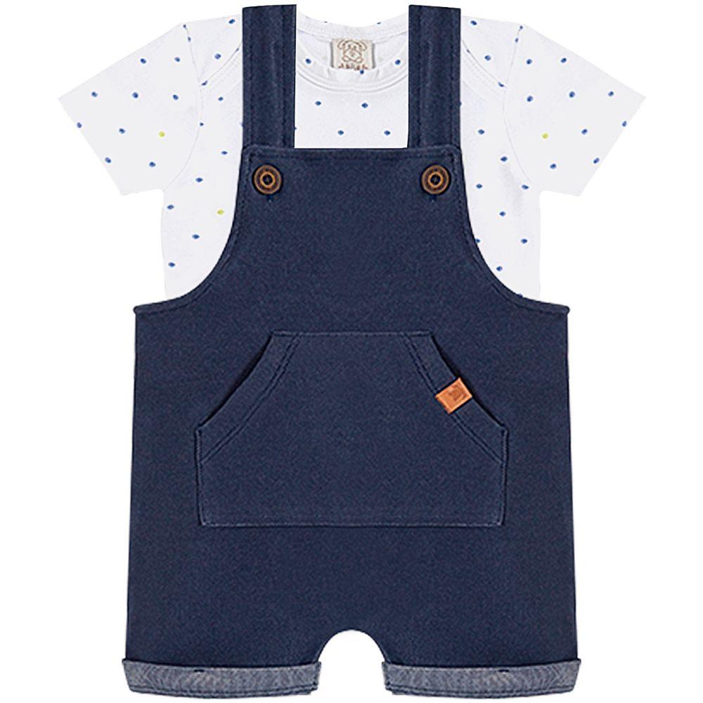 PL66634-A-moda-bebe-menino-jardineira-body-curto-tricoline-pingo-lele-no-bebefacil-loja-de-roupas-enxoval-e-acessorios-para-bebes