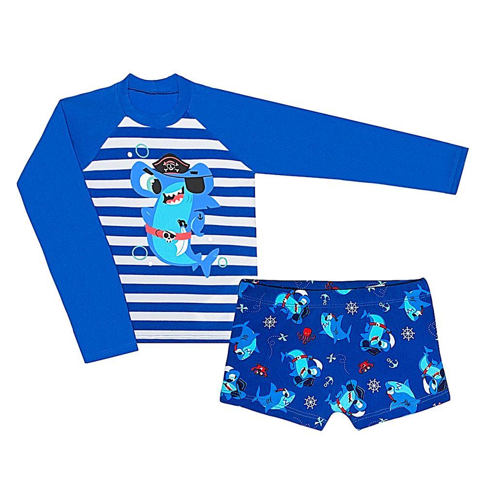 KIT1.TU-AZ-A-moda-praia-bebe-menino-kit-camiseta-surfista-sunga-boxer-lycra-tubarao-puket-no-bebefacil-loja-de-roupas-enxoval-e-acessorios-para-bebes