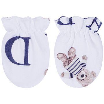 CQ20.040041-137-C-enxoval-e-maternidade-bebe-menino-kit-touca-luva-urso-letras-coquelicot-no-bebefacil-loja-de-roupas-enxoval-e-acessorios-para-bebes