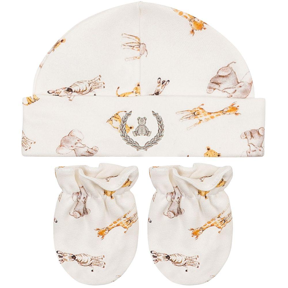 CQ20040-140-A-enxoval-e-maternidade-bebe-menino-kit-touca-luva-safari-coquelicot-no-bebefacil-loja-de-roupas-enxoval-e-acessorios-para-bebes