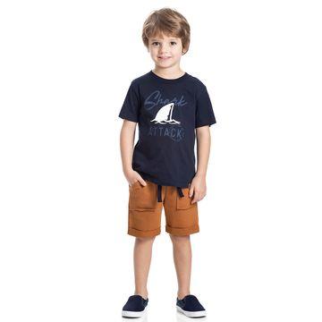 TMX5327-MC-D-moda-bebe-menino-conjunto-camiseta-bermuda-em-malha-moletinho-shark-TMX-no-bebefacil-loja-de-roupas-para-bebes