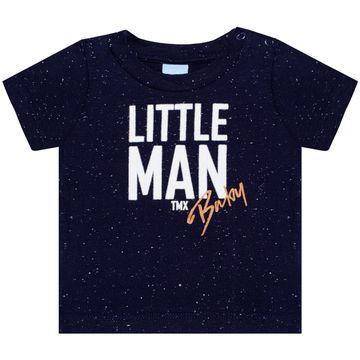 TMX4081-B-moda-bebe-menino-conjunto-camiseta-bermuda-em-malha-moletinho-little-man-TMX-no-bebefacil-loja-de-roupas-para-bebes