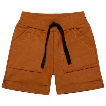 TMX4081-C-moda-bebe-menino-conjunto-camiseta-bermuda-em-malha-moletinho-little-man-TMX-no-bebefacil-loja-de-roupas-para-bebes