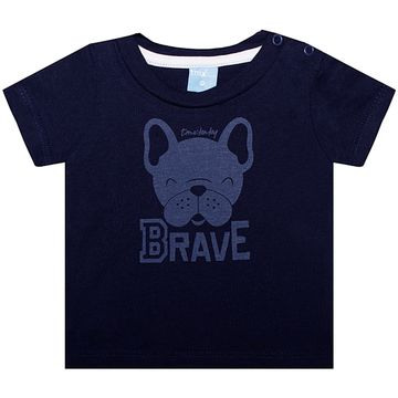 TMX4082-MR-B-moda-bebe-menino-conjunto-camiseta-short-em-malha-bulldog-brave-TMX-no-bebefacil-loja-de-roupas-para-bebes