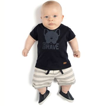 TMX4082-MR-D-moda-bebe-menino-conjunto-camiseta-short-em-malha-bulldog-brave-TMX-no-bebefacil-loja-de-roupas-para-bebes
