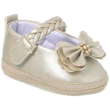 KB1157-81-A-sapatinhos-bebe-menina-sapatilha-boneca-laco-dourado-keto-keto-baby-no-bebefacil-loja-de-roupas-enxoval-e-acessorios-para-bebes