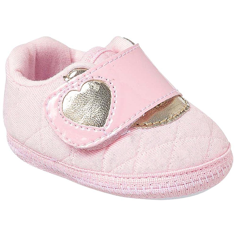KB3266-7-A-sapatinhos-bebe-menina-tenis-matelasse-coracao-rosa-keto-keto-baby-no-bebefacil-loja-de-roupas-enxoval-e-acessorios-para-bebes