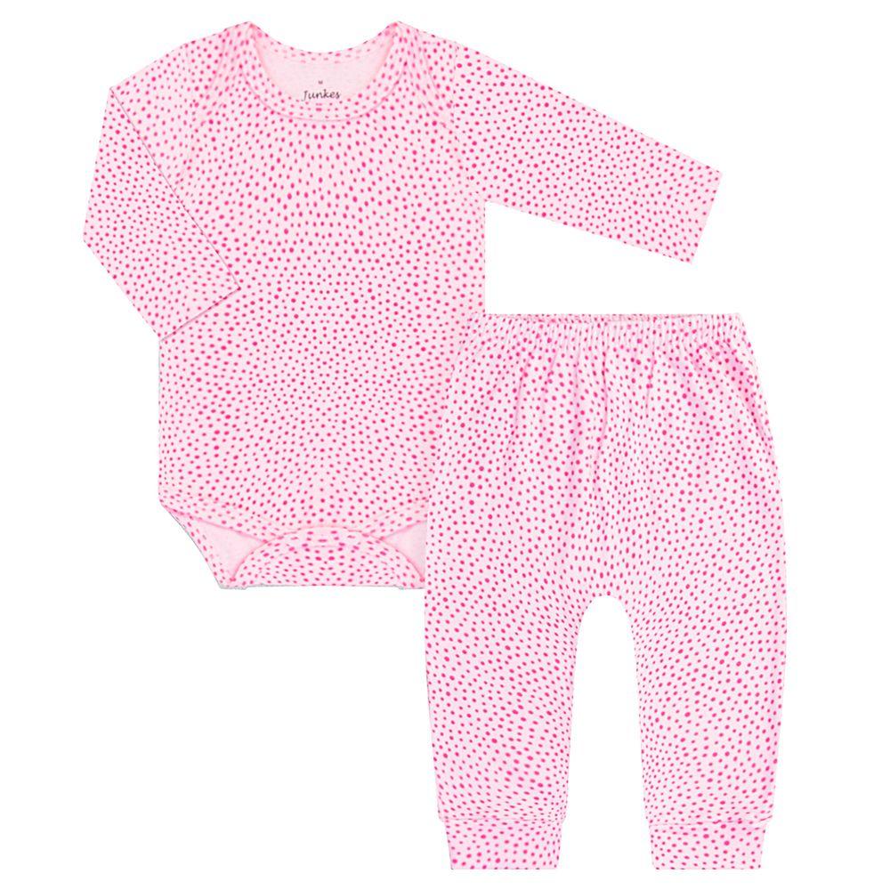 JUN30106-P-A-moda-bebe-menina-conjunto-body-longo-calca-em-suedine-poa-junkes-baby-no-bebefacil-loja-de-roupas-enxoval-e-acessorios-para-bebes