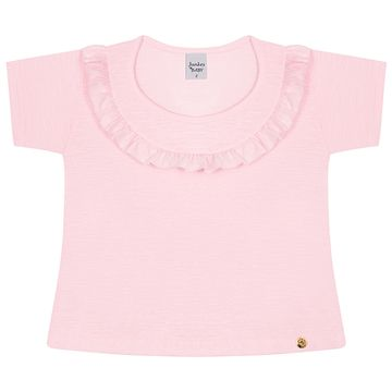 JUN50153-4-B-menina-bata-com-shorts-em-malha-flame-rosa-junkes-baby-no-bebefacil-loja-de-roupas-enxoval-e-acessorios-para-bebes