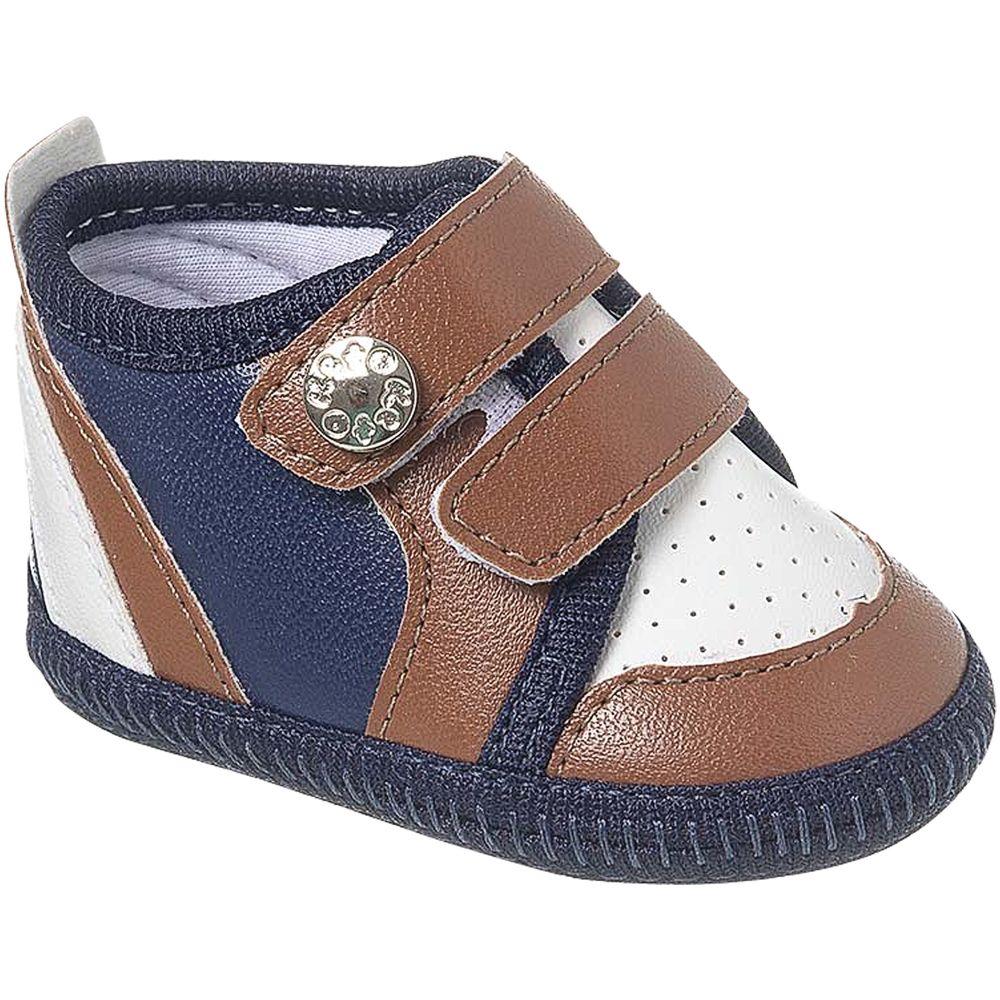 KB3268-44-A-sapatinhos-bebe-menino-tenis-sneaker-marrom-marinho-keto-baby-no-bebefacil-loja-de-roupas-enxoval-e-acessorios-para-bebes