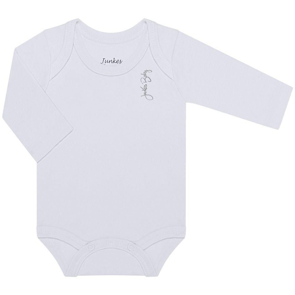 JUN20105-BR-A-moda-bebe-menina-menino-body-longo-suedine-branco-junkes-baby-no-bebefacil-loja-de-roupas-enxoval-e-acessorios-para-bebes