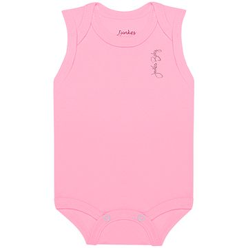 JUN20113-B-moda-bebe-menina-kit-3-bodies-regata-em-suedine-pink-rosa-branco-junkes-baby-no-bebefacil-loja-de-roupas-enxoval-e-acessorios-para-bebes