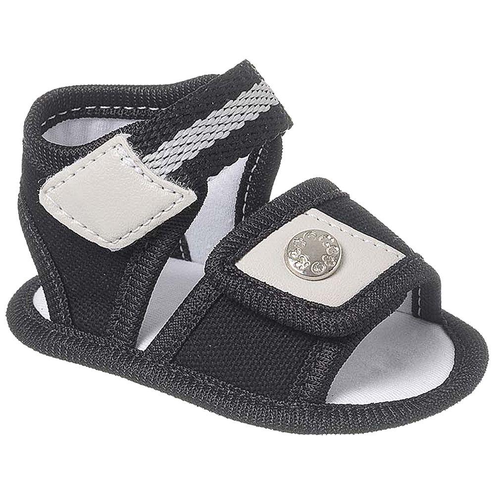 KB5326-73-A-sapatinhos-sandalia-bebe-menino-lona-preto-keto-baby-no-bebefacil-loja-de-roupas-enxoval-e-acessorios-para-bebes