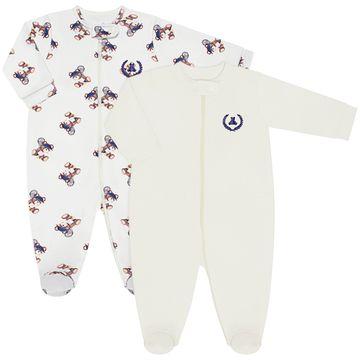 CQ20.097-149-A-moda-bebe-menino-kit-2-macacaoes-longo-em-suedine-malha-ursinho-tenista-marfim-coquelicot-no-bebefacil-loja-de-roupas-enxoval-e-acessorios-para-bebes