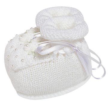 01429010001-B-sapatinho-bebe-menina-botinha-tricot-perolas-e-mini-flores-branca-roana-no-bebefacil