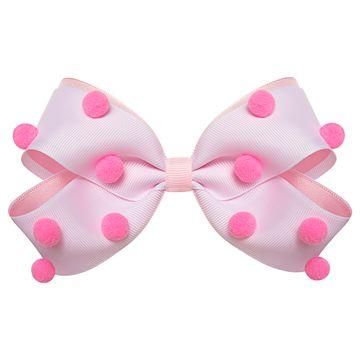01219005307-A-moda-acessorios-menina-presilha-maxi-laco-pompom-rosa-roana-no-bebefacil