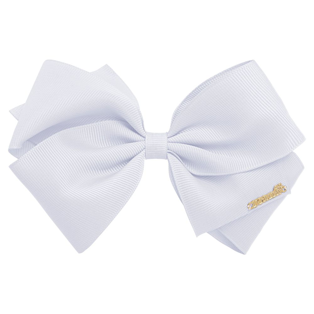 01219001001_A-moda-bebe-menina-acessorios-presilha-maxi-laco-em-gorgurao-branco-roana-no-bebefacil-loja-de-roupas-enxoval-e-acessorios-para-bebes