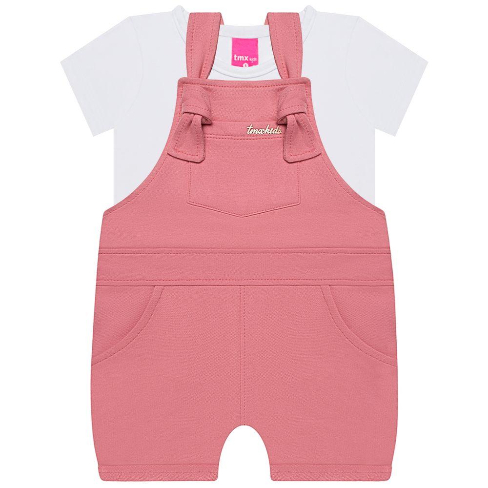TMX1230-A-moda-bebe-menina-jardineira-com-blusinha-rose-tmx-no-bebefacil