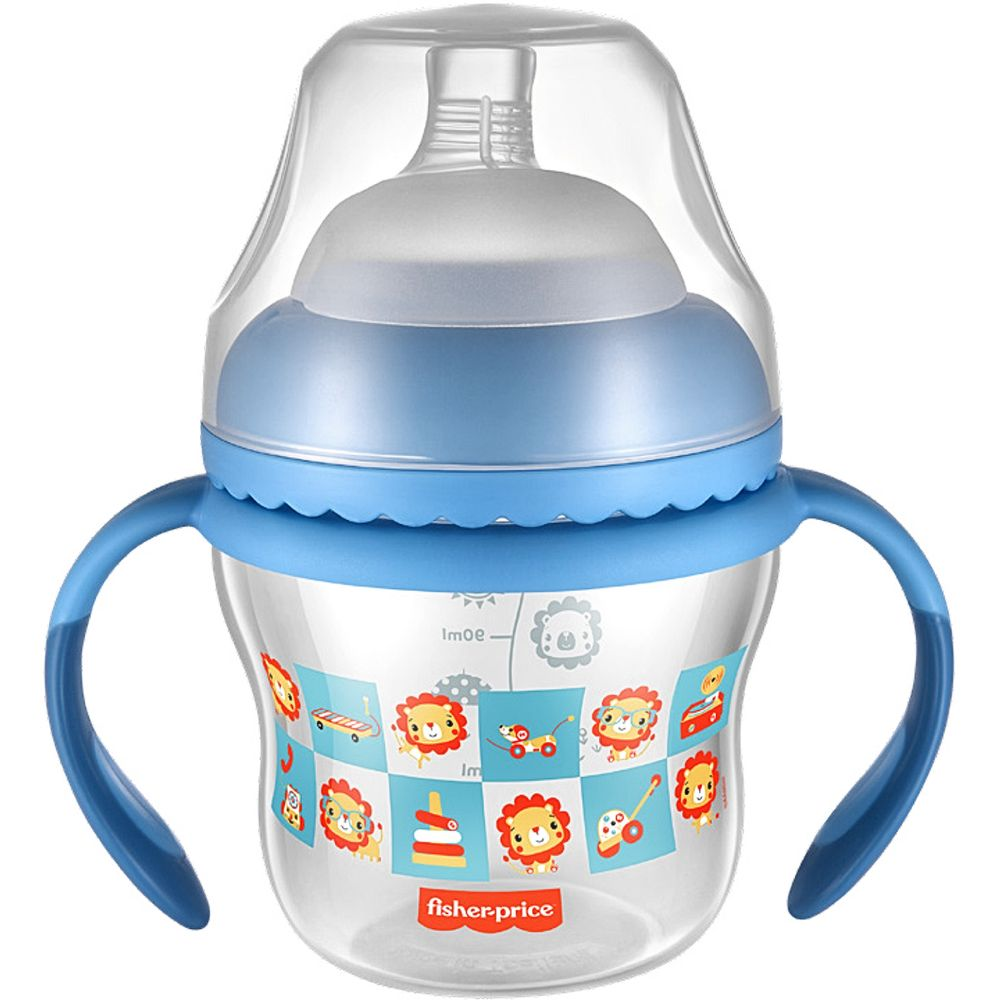 BB1055-A-Copo-de-Transicao-First-Moments-150ml-Azul-4m---Fisher-Price