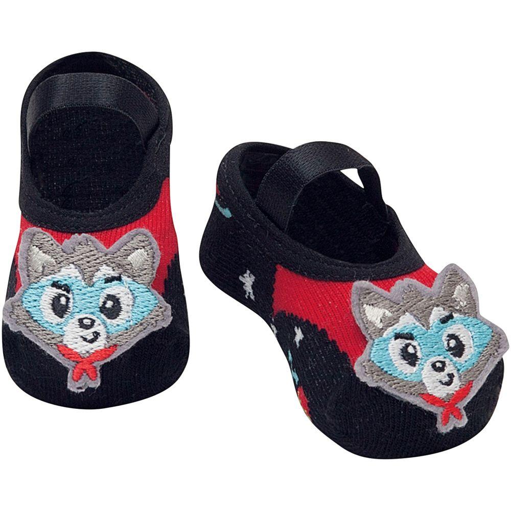 PK6939-WO-A-moda-bebe-menino-acessorios-meia-sapatilha-wolf-puket-no-bebefacil