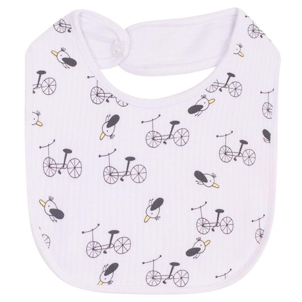 JUN31103-enxoval-e-maternidade-bebe-menino-menina-babador-ema-malha-canelada-bike-junkes-baby-no-bebefacil